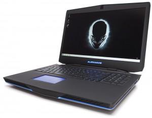 بهترین لپ تاپ بازی : لپ تاپ Alienware 17