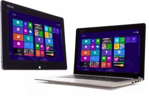 لپ تاپ تبلت ASUS Transformer Book TX300 - بهترین لپ تاپ تبلت هیبرید ویندوز 8